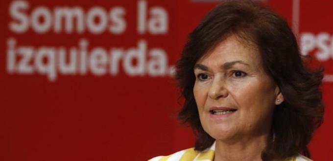 Carmen Calvo contra el romanticismo