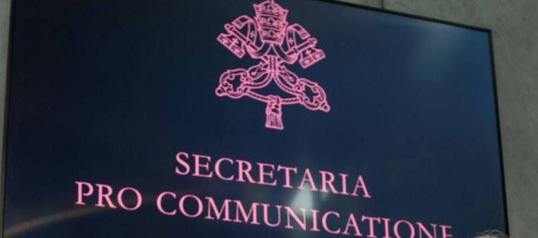 El Papa Francisco transforma la Secretaría para la Comunicación en «Dicasterio para la Comunicación»